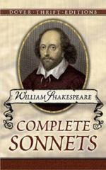 William Shakespeare - Complete Sonnets 1st Edition 9780486266862 0486266869