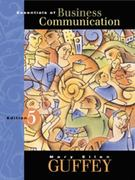 Essentials of Business Communication 5th edition 9780324013627 0324013620