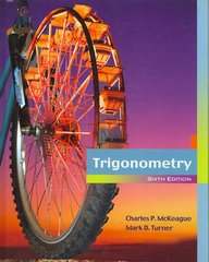 Trigonometry 6th Edition 9780495108351 0495108359
