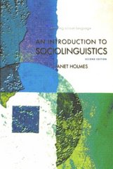 An Introduction to Sociolinguistics 2nd Edition 9780582328617 0582328616