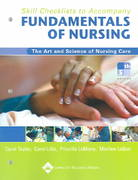 Skill Checklists to Accompany Fundamentals of Nursing 5th edition 9780781752183 0781752183
