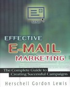 Effective E-Mail Marketing 0 9780814471470 0814471471