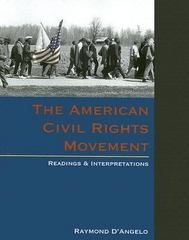The American Civil Rights Movement: Readings and Interpretations 1st edition 9780072399875 0072399872