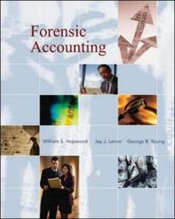 Forensic Accounting 1st edition 9780073526850 0073526851