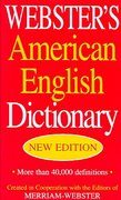 Webster's American English Dictionary 0 9781596950023 1596950021
