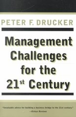 Management Challenges for the 21st Century 21st edition 9780887309991 0887309992