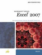New Perspectives on Microsoft Office Excel 2007, Brief 1st edition 9781423905837 1423905830