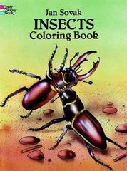 Insects Coloring Book 0 9780486279985 0486279987