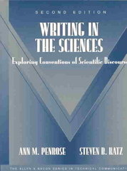 Writing in the Sciences 2nd Edition 9780321112040 0321112040