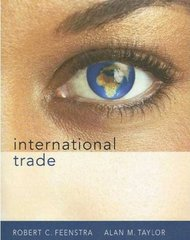 International Trade 1st edition 9781429206907 142920690X