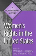 Women's Rights in the United States 0 9780275965273 0275965279