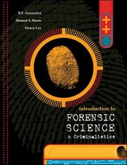 Introduction to Forensic Science and Criminalistics 1st Edition 9780072988482 0072988487