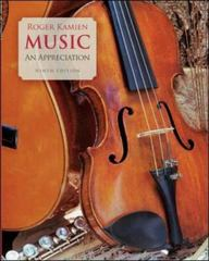 Music: An Appreciation 9th Edition 9780073526560 0073526568