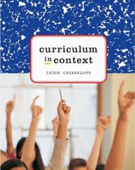 Curriculum in Context 1st Edition 9781285961255 1285961250