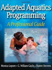 Adapted Aquatics Programming 2nd Edition 9780736057301 0736057307
