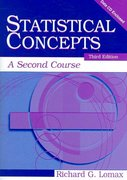 Statistical Concepts 3rd edition 9780805858501 0805858504