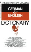 Bantam New College German/English Dictionary 0 9780553280883 0553280880
