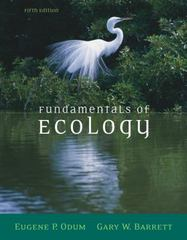 Fundamentals of Ecology 5th edition 9780534420666 0534420664