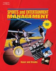 Sports and Entertainment Management 1st Edition 9780538438292 0538438290