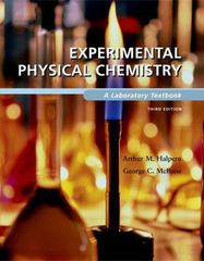 Experimental Physical Chemistry 3rd Edition 9780716717355 0716717352