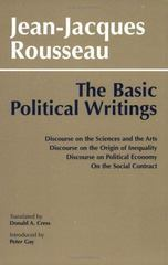 Basic Political Writings 0 9780872200487 0872200485