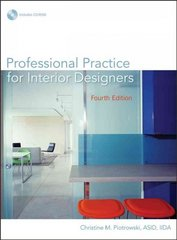 Professional Practice for Interior Designers 4th Edition 9780471760863 0471760862
