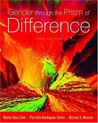 Gender Through the Prism of Difference 3rd Edition 9780195167641 0195167643