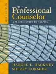 The Professional Counselor 6th Edition 9780205608324 0205608329