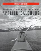 Applied Calculus, Student Study Guide 1st edition 9780471182375 0471182370