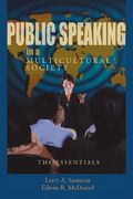 Public Speaking in a Multicultural Society 0 9780195330229 0195330226