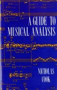A Guide to Musical Analysis 1st Edition 9780393962550 0393962555