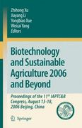 Biotechnology and Sustainable Agriculture 2006 and Beyond 1st edition 9781402066344 1402066341