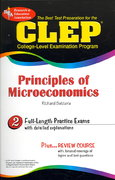 CLEP Principles of Microeconomics 1st Edition 9780738667478 0738667471