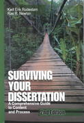 surviving your dissertation 2nd edition