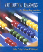 Mathematical Reasoning for Elementary Teachers 3rd Edition 9780201785692 0201785692