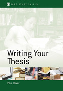 Writing Your Thesis 0 9780761942993 0761942998