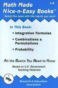 Integration Formulas, Combinations and Permutations, Probability 0 9780878912087 0878912088