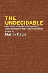 The Undecidable 1st Edition 9780486432281 0486432289