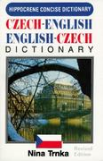 Concise Czech-English, English-Czech Dictionary 3rd edition 9780870529818 0870529811