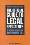 The Official Guide to Legal Specialities 0 9780159003916 0159003911