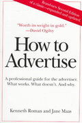 How to Advertise 2nd edition 9780312171087 0312171080