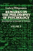 Remarks on the Philosophy of Psychology, Volume 2 0 9780226904344 0226904342
