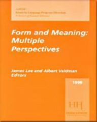 Form and Meaning 1st edition 9780838408469 083840846X