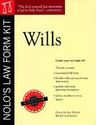 Nolos Law Form Kit Wills 2nd edition 9780873371810 087337181X