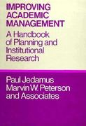 Improving Academic Management 1st edition 9780875894775 0875894771