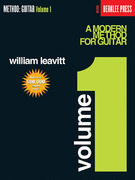 A Modern Method for Guitar 1st Edition 9780876390139 0876390130