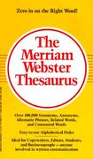 The Merriam-Webster Thesaurus 1st Edition 9780877799023 0877799024