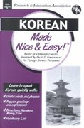 Korean Made Nice and Easy! 0 9780878913732 0878913734