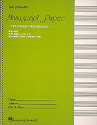 Standard Wirebound Manuscript Paper (Green Cover) 1st Edition 9780881884999 0881884995