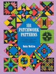 101 Patchwork Patterns 2nd edition 9780486207735 0486207730